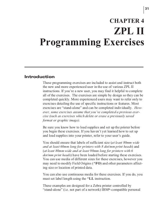 manual lenguaje zebra rh slideshare net zebra gk420t zpl ii programming guide zebra zpl programming guide download