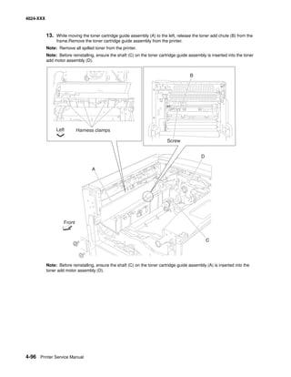 Manual lexmark™ w840 printer