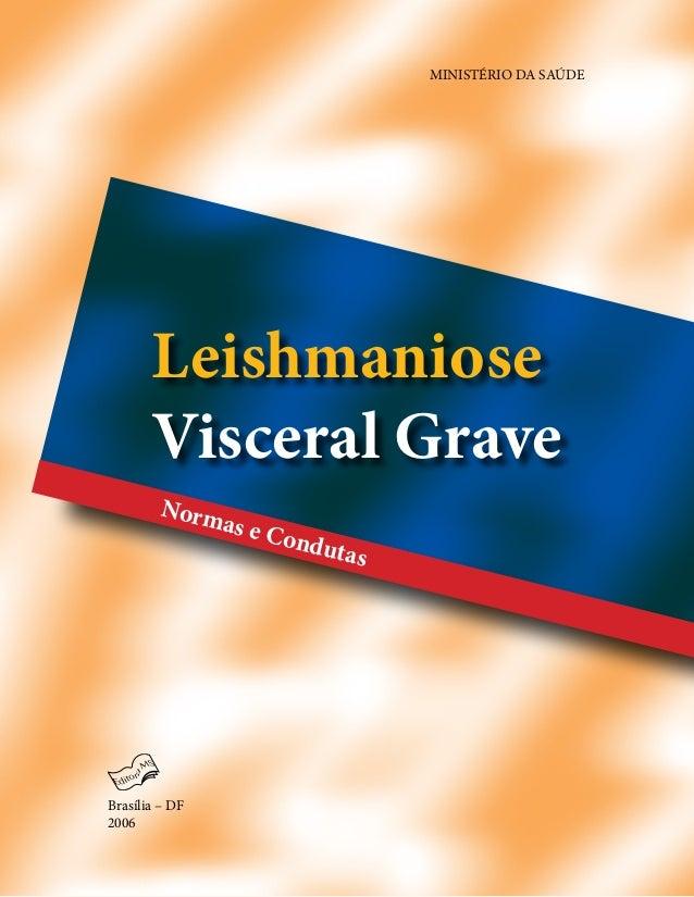 Leishmaniose Visceral Grave MINISTÉRIO DA SAÚDE Brasília – DF 2006 Normas e Condutas Secretaria de Vigilância em Saúde Dis...