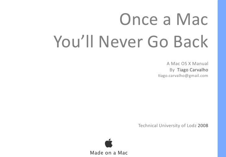 Mac OS X Manual