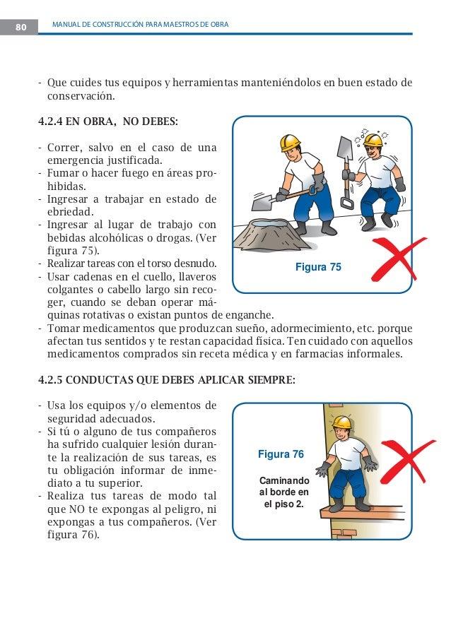 Manual maestro de obra construccion for Manual de construccion de albercas pdf