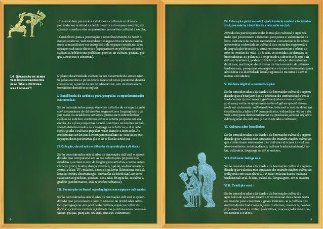 8 9IX. Educação Museal:Atividades de identificação, pesquisa, seleção, coleta, preser-vação, registro, exposição e divulga...