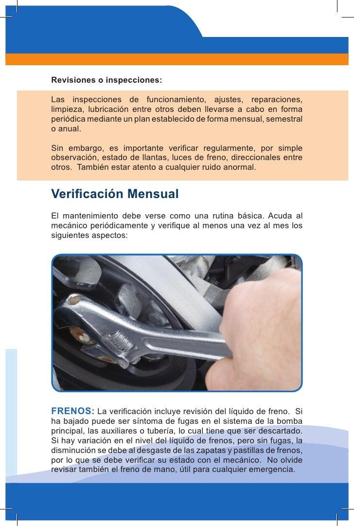 Manual Mantenimiento Basico De Vehiculos