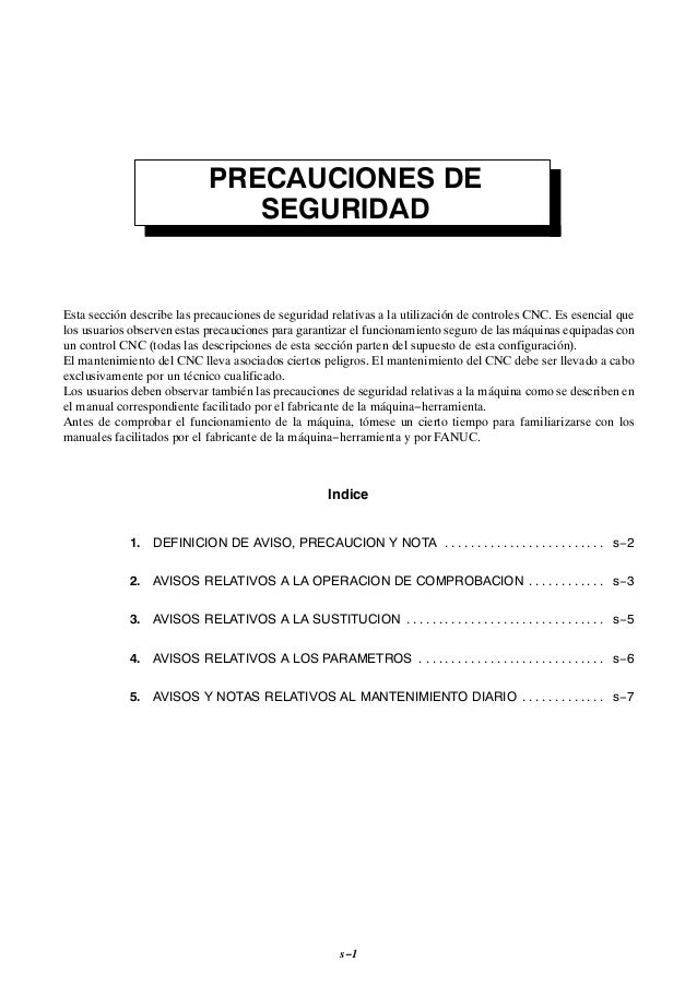 Fanuc 0 M Control manual