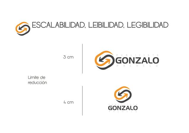 ESCALABILIDAD, LEIBILIDAD, LEGIBILIDAD Límite de reducción 4 cm 3 cm