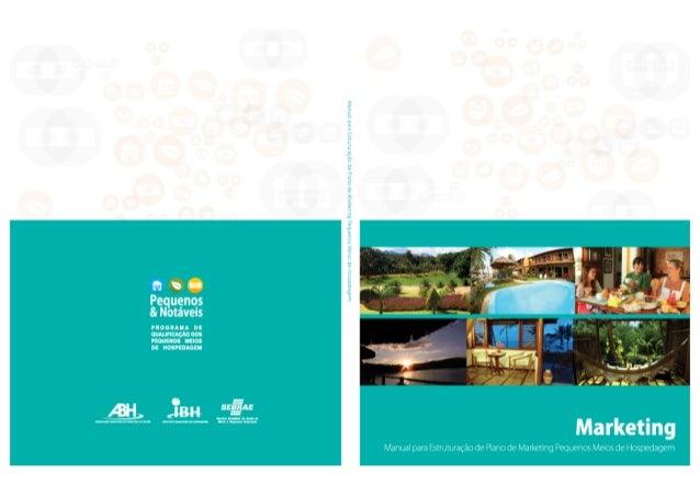 Manual para Estruturação de Plano de Marketing - Pequenos Meios de Hospedagem