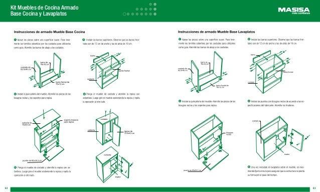 Manual masisa for Manual de muebles de cocina
