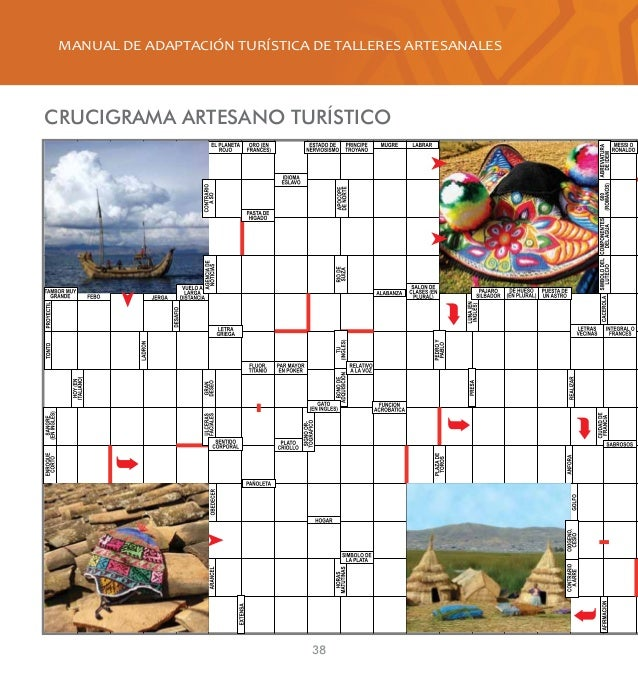 Manual de adaptaci n tur stica de talleres artesanales for Talleres artesanales