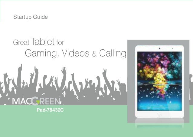 Startup Guide  Pad-78432C