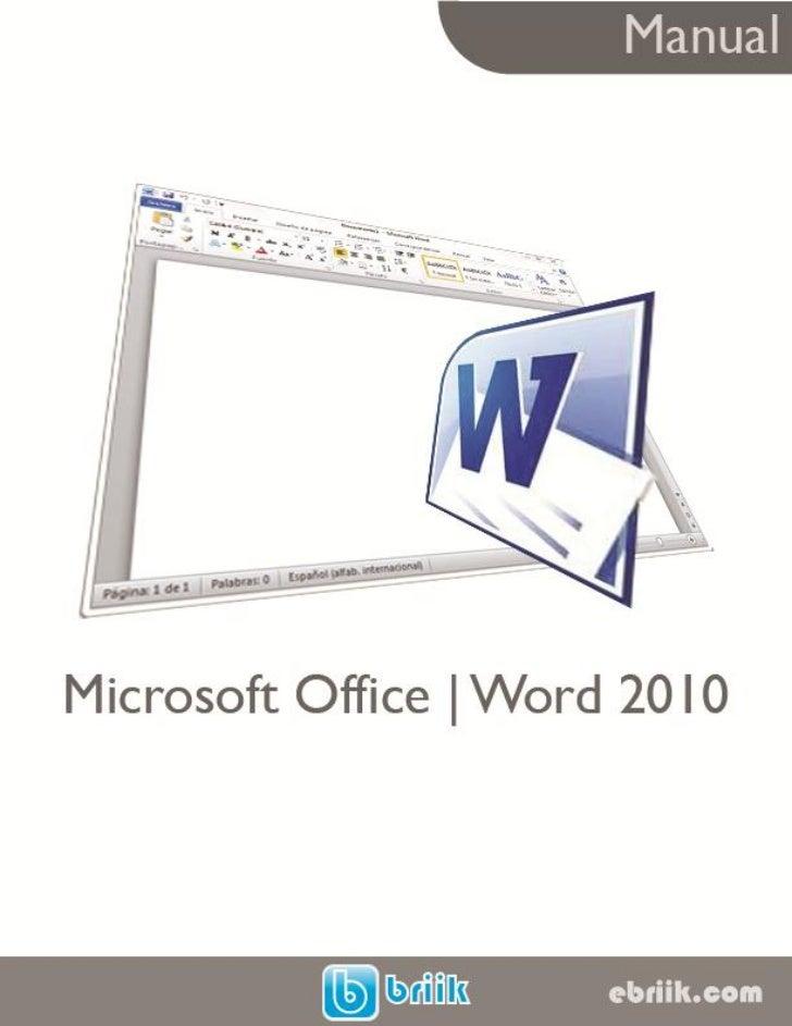 manual microsoft office word 2010 rh es slideshare net microsoft office word 2010 manual microsoft office word 2010 manual
