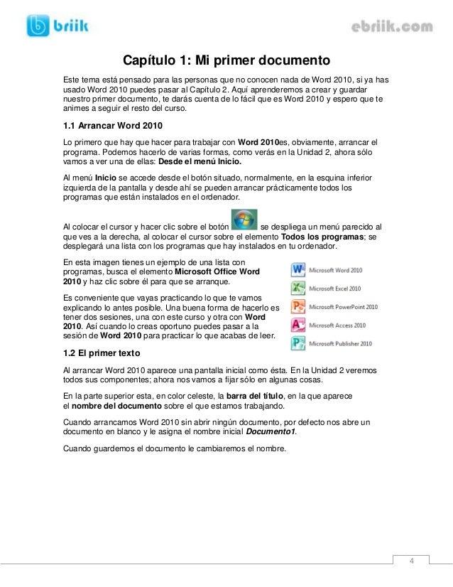 microsoft word 2010 manual pdf