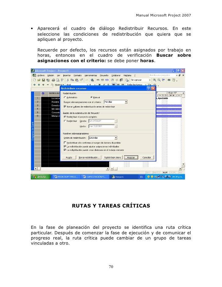 manual microsoft project 2007 espa ol rh es slideshare net manual ms project 2007 pdf manual ms project 2007 pdf