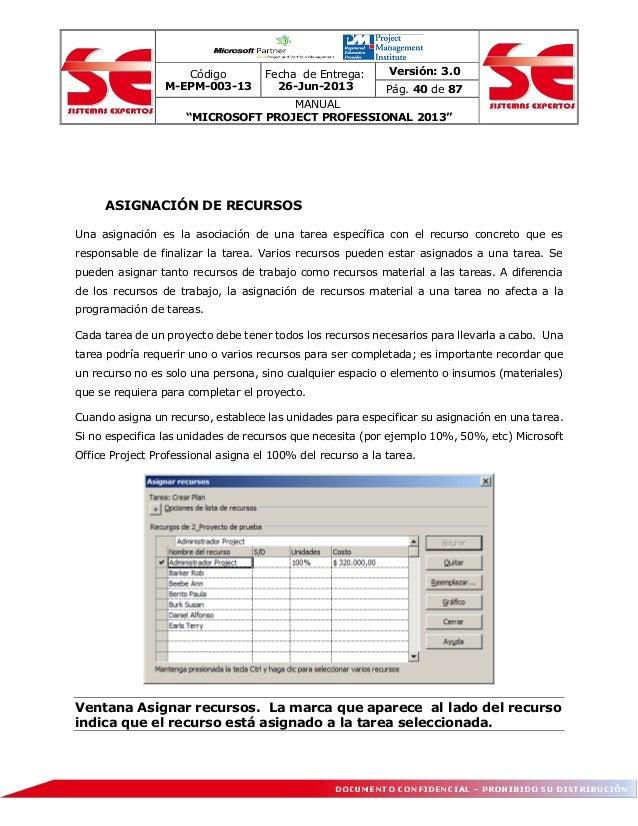 Manual ms project 2013 pdf