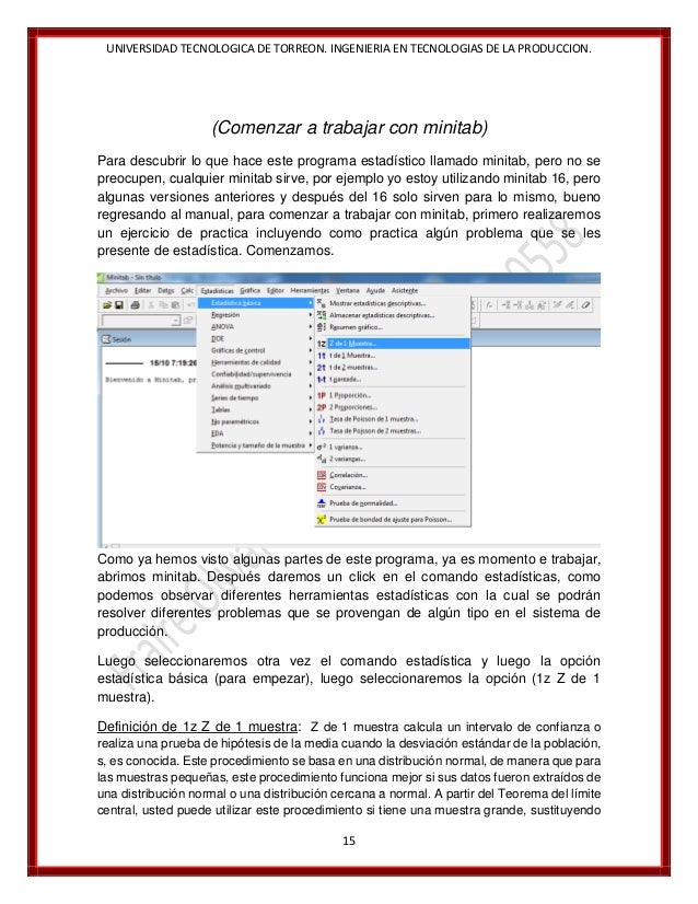 manual minitab 16 utt jose servando rh es slideshare net minitab 17 manual pdf minitab 17 manual pdf