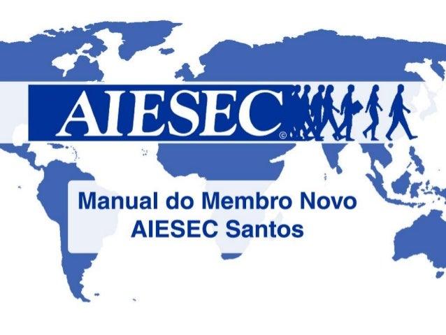 Manual de Novos Membros - @SA