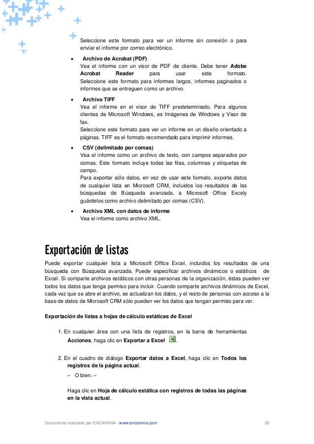 microsoft dynamics crm manual pdf