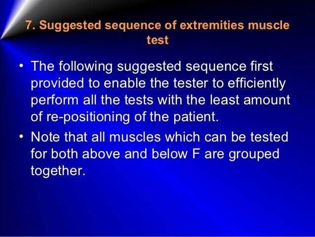 definition of manual muscle testing