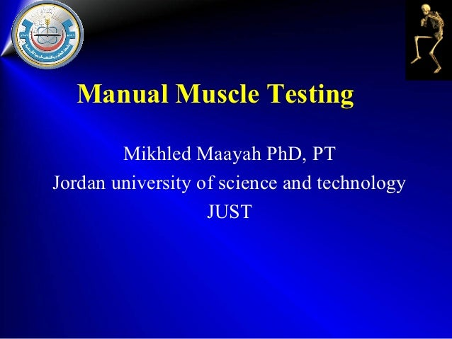 Manual muscle testing | introduction to physical therapy and.