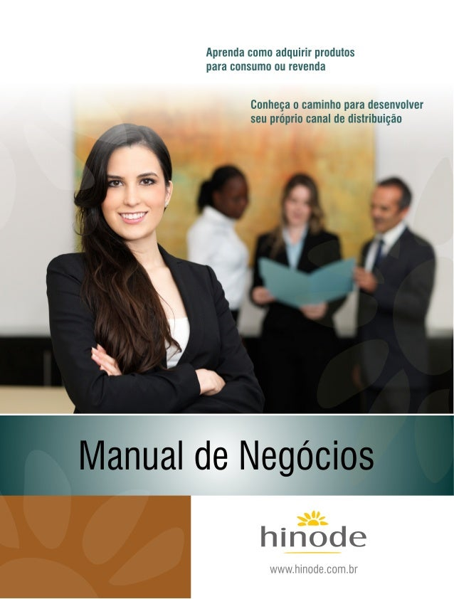 Manual negocios  hinode