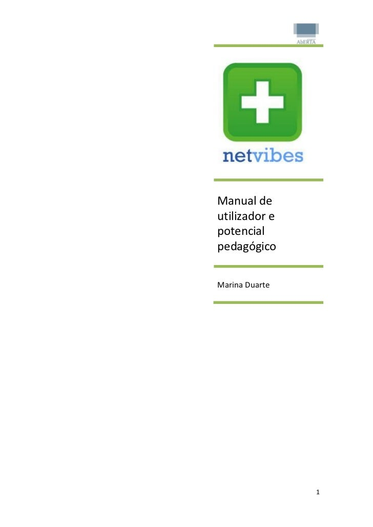 Manual deutilizador epotencialpedagógicoMarina Duarte                1