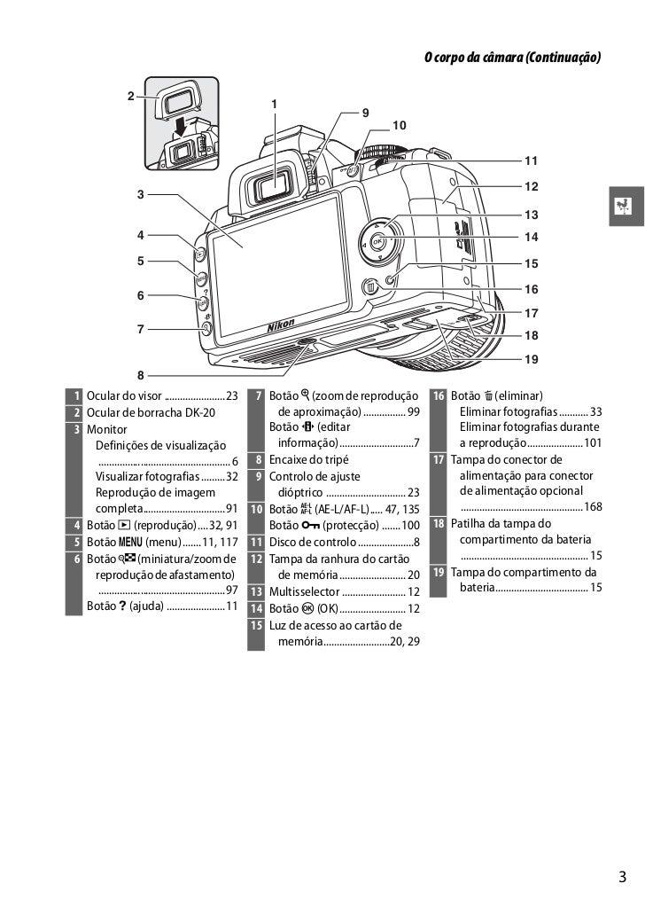 manual nikon d3000 em portugu s rh pt slideshare net manual de camara nikon d3000 manual de nikon d3000 en español