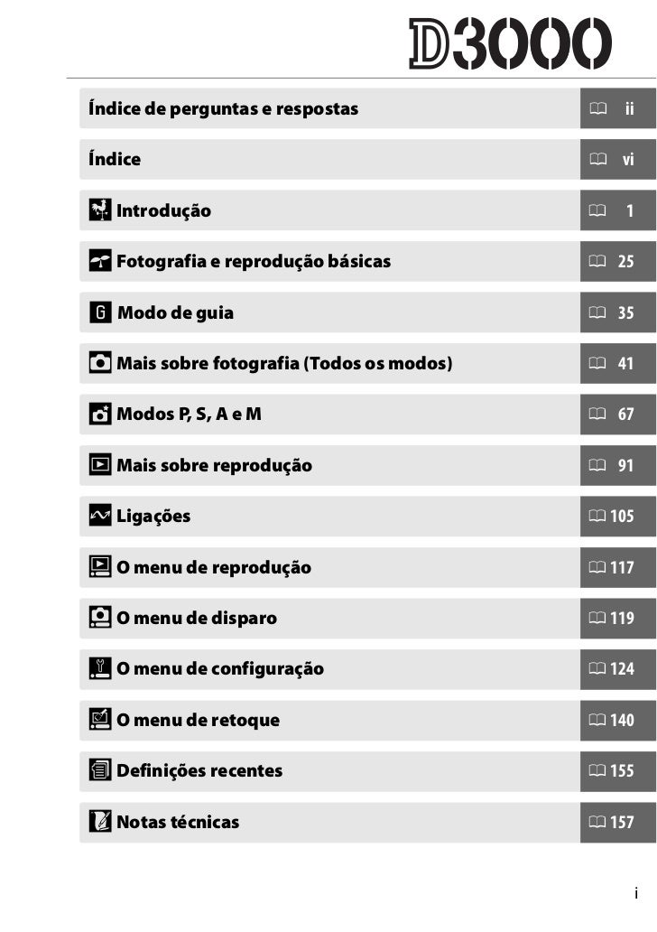 manual nikon d3000 em portugu s rh pt slideshare net Nikon D3000 User Manual Nikon D3000 Operating Manual