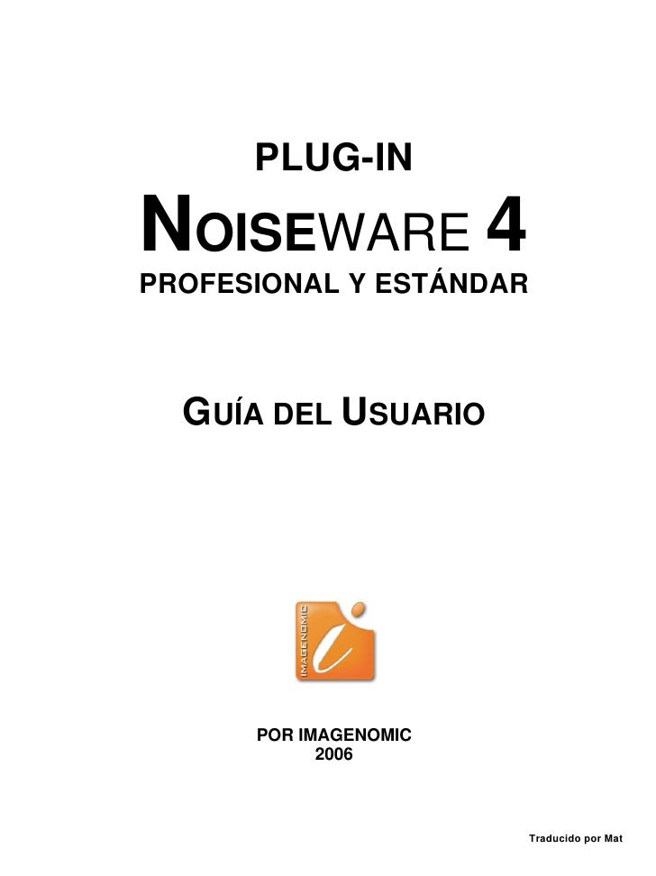 Manual Noiseware EspañOl