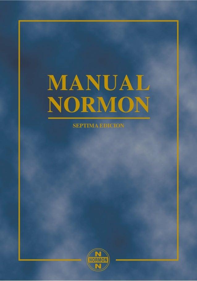MANUALNORMON SEPTIMA EDICION