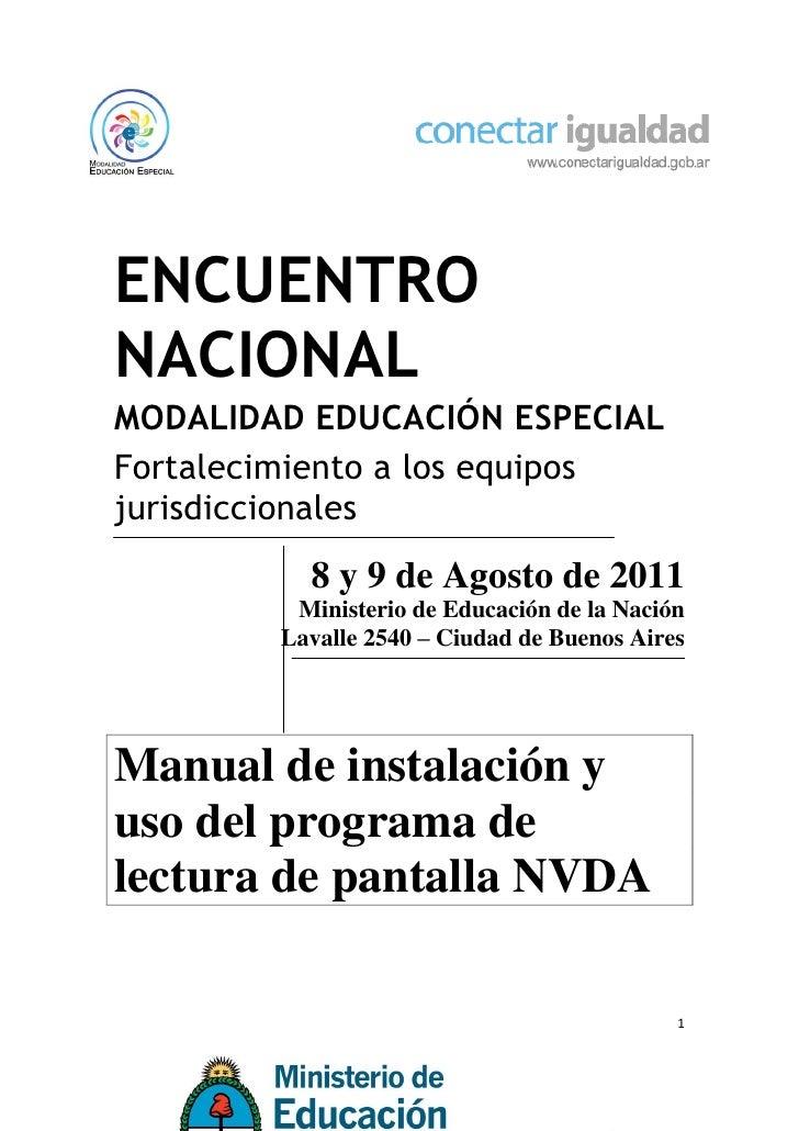 ENCUENTRONACIONALMODALIDAD EDUCACIÓN ESPECIALFortalecimiento a los equiposjurisdiccionales          8 y 9 de Agosto de 201...