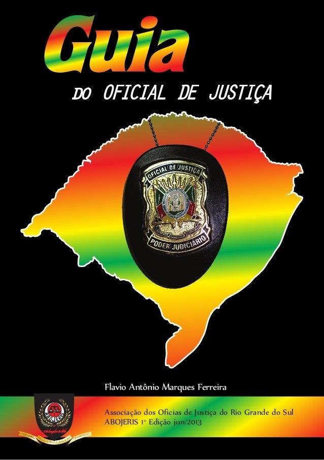 Manual Oficial de Justiça