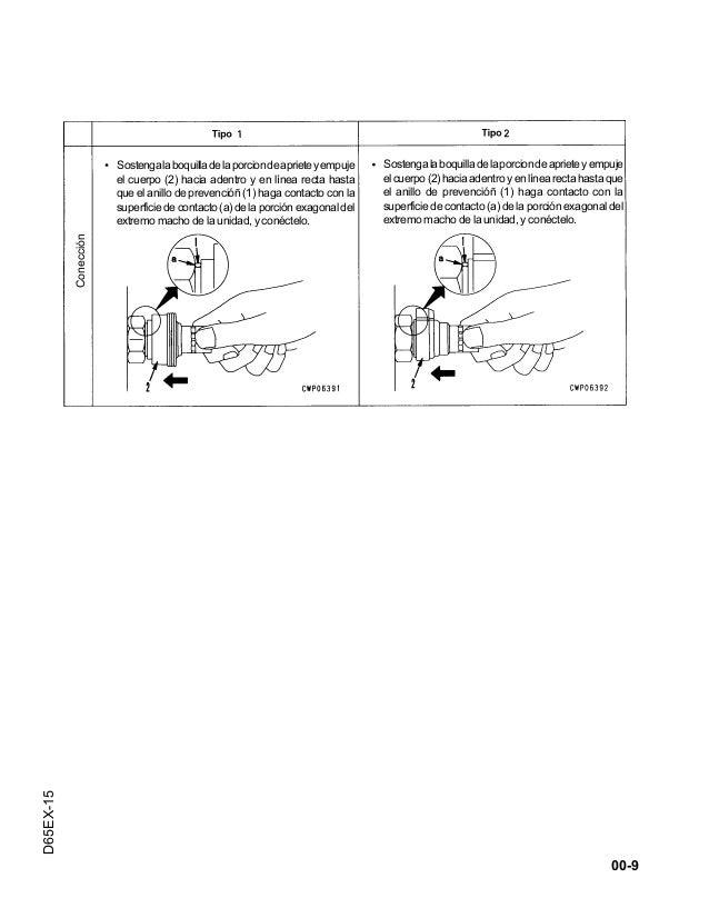 Manual oficina d65 ex 15+japan+(esp)gsbm029503