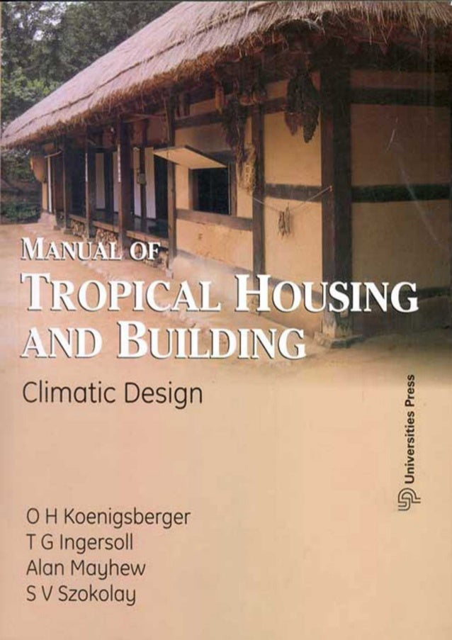 Of pdf housing manual climatic and tropical building design