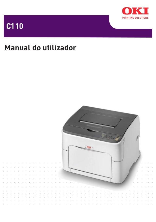 C110 Manual do utilizador