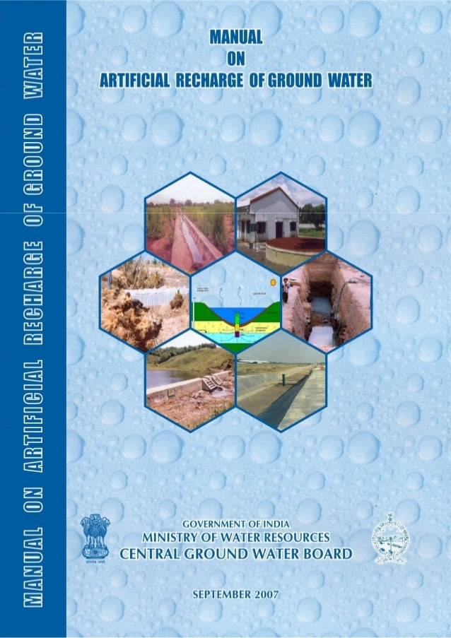 PREFACE The dependence on ground water as a reliable source for meeting the requirements for irrigation, drinking and indu...