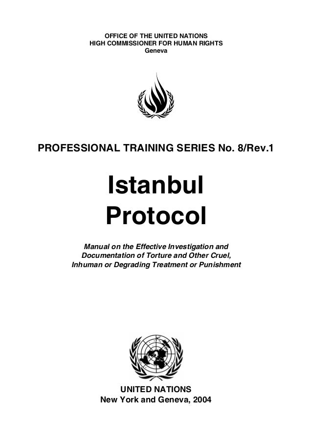 OFFICE OF THE UNITED NATIONS HIGH COMMISSIONER FOR HUMAN RIGHTS Geneva PROFESSIONAL TRAINING SERIES No. 8/Rev.1 UNITED NAT...