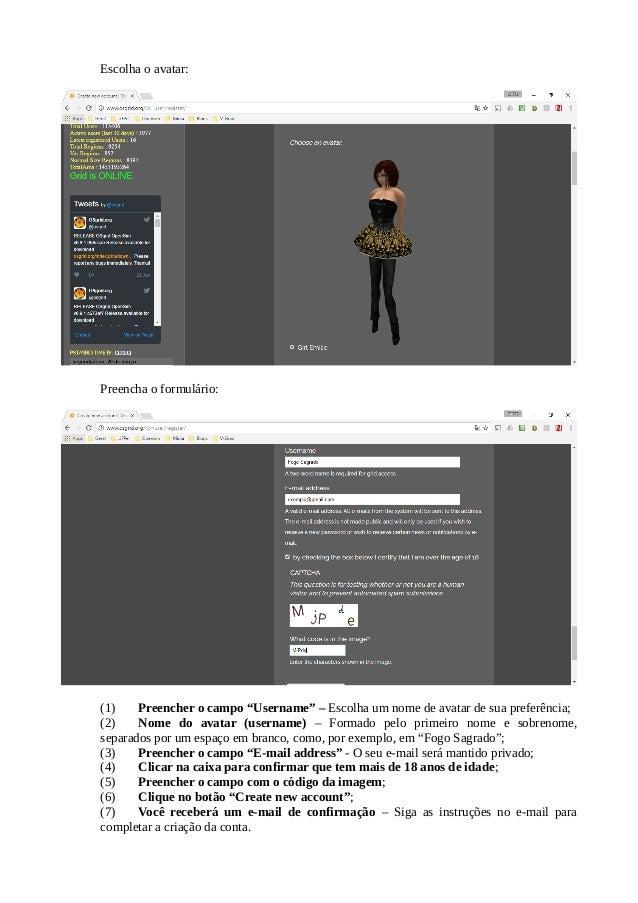 COMO CRIAR UMA CONTA NO OSGRID E EXPLORAR O METAVERSE Slide 3