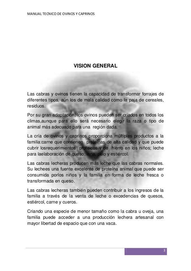 MANUAL TECNICO DE OVINOS Y CAPRINOS