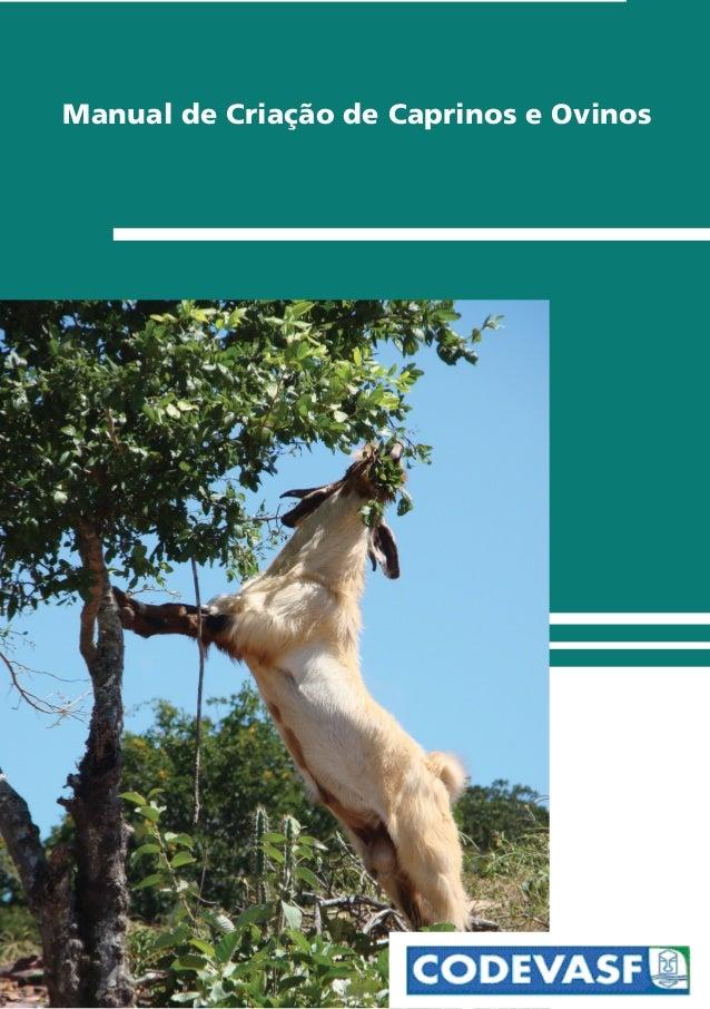 Manual de Criação de Caprinos e Ovinos
