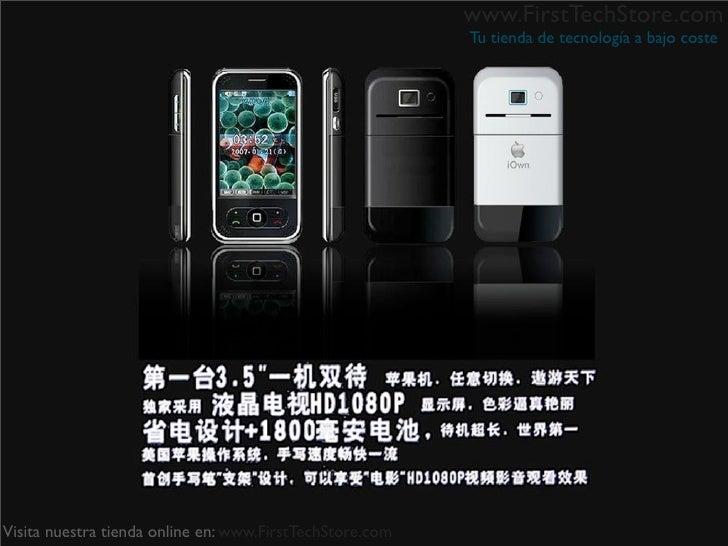 www.FirstTechStore.com                                                           Tu tienda de tecnología a bajo coste     ...