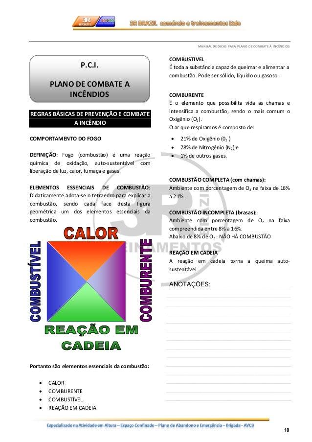 MANUAL PREVENCION Y COMBATE DE INCENDIOS - PDF