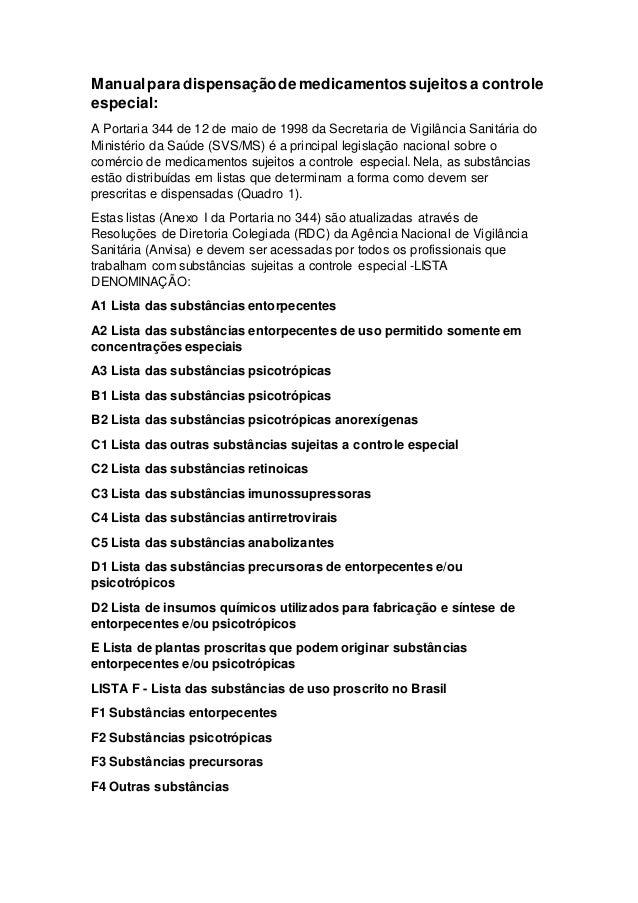 portaria 344 atualizada em pdf