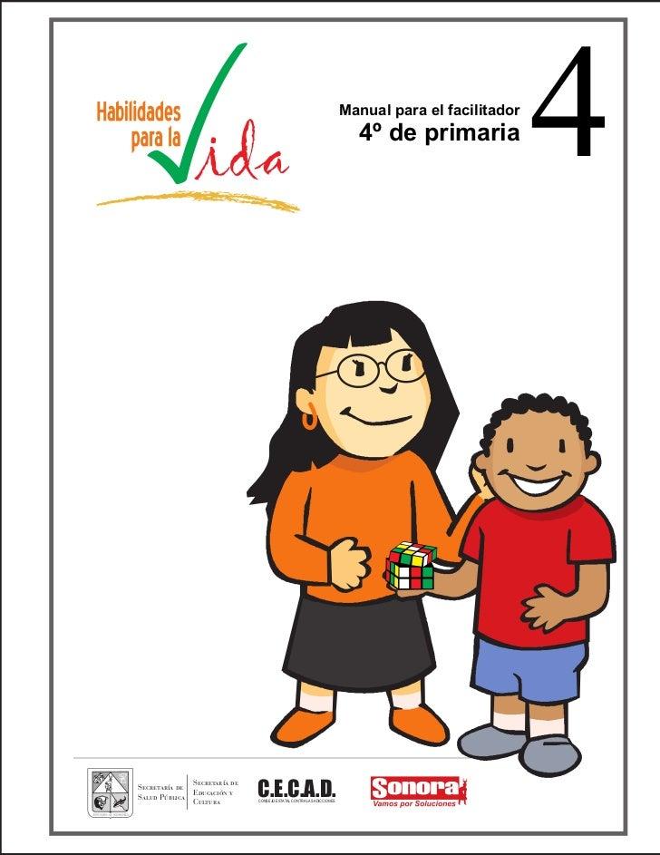 Manual para el facilitador                                                                           4º de primaria       ...