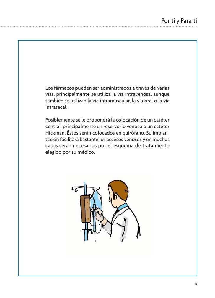 Por ti y Para ti     Los fármacos pueden ser administrados a través de varias vías, principalmente se utiliza la vía intra...