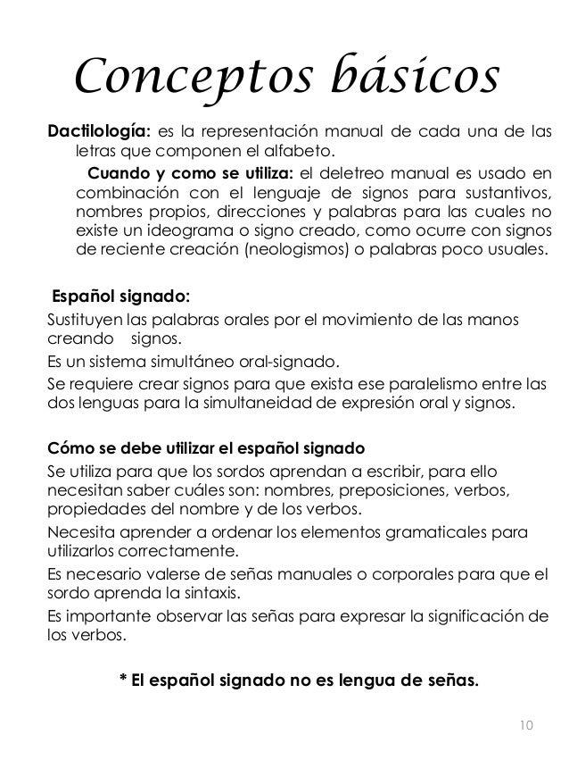 Manual para facilitar la comunicación con personas sordas
