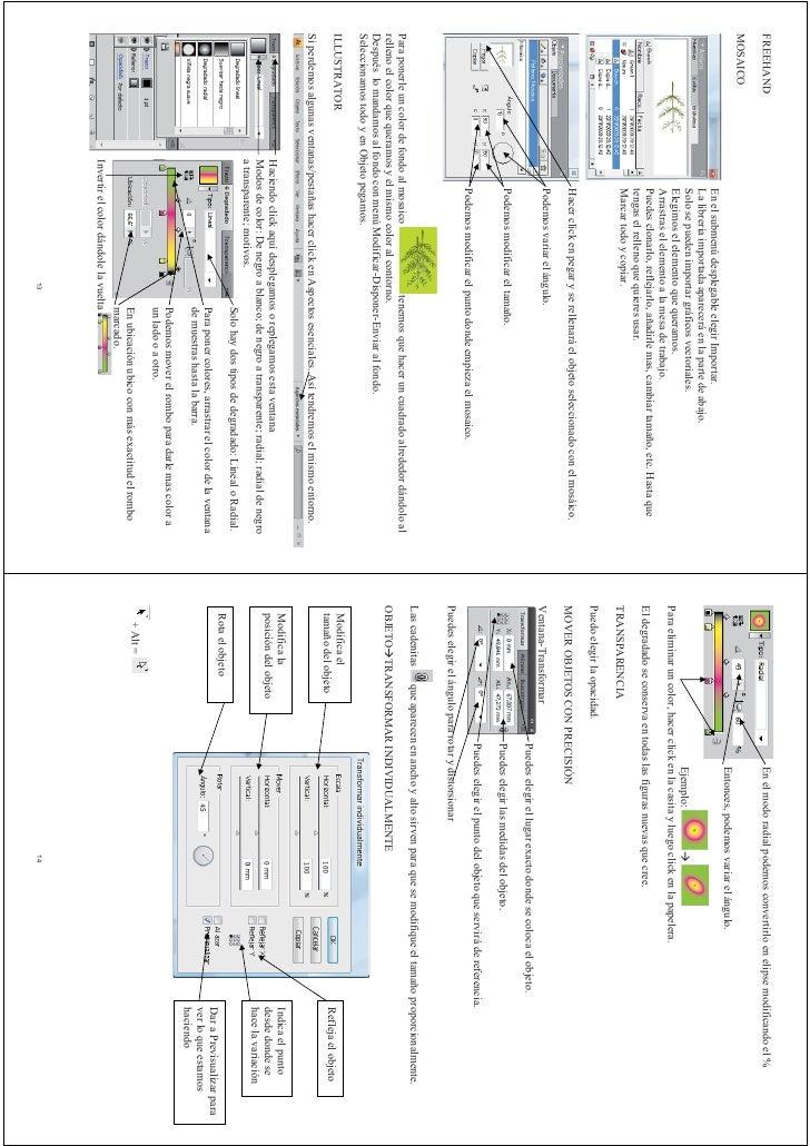 Manual Para Fotocopiar Illustrator Y Freehand