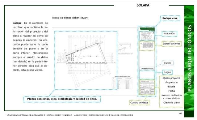 Manual para la elaboraci n de proyectos ejecutivos for Que es un plano arquitectonico