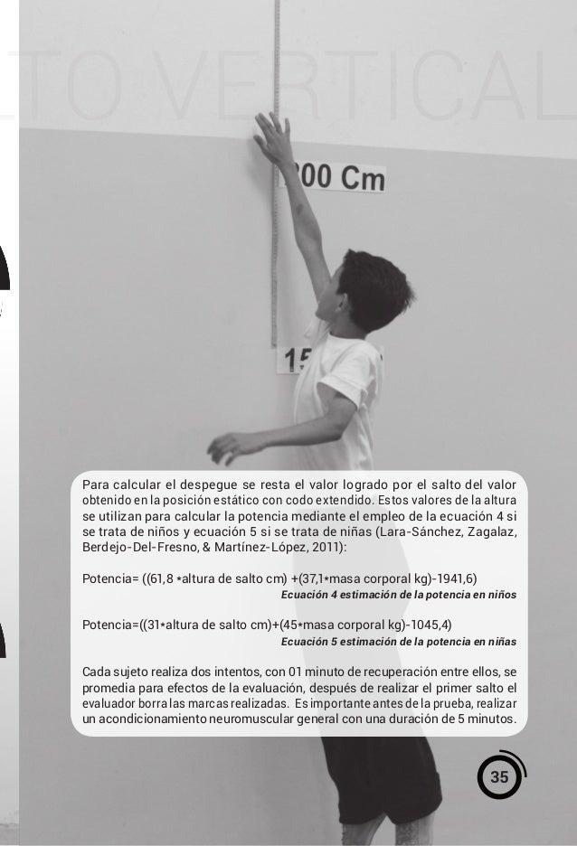 Manual para pruebas fisicas antopometricas curso escolar 2016 2017