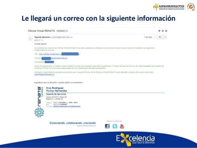 Manual para solicitar la oficina virtual renata for Oficina virtual correos