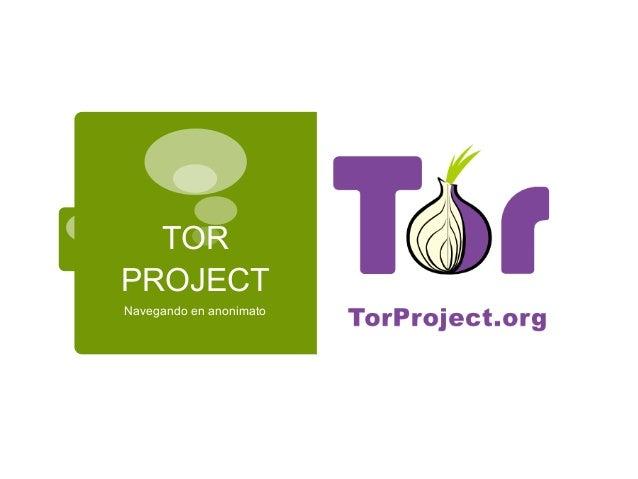 Manual para usar TOR Slide 2