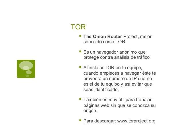Manual para usar TOR Slide 3